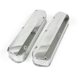 Ford Small Block 5 0 302 Long Bolt Fabricated Aluminum Valve Covers No Hole Must