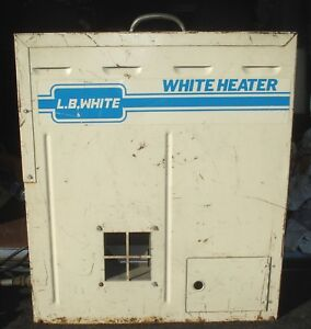 Lb White Portable Tent Propane Construction Jobsite Heater Input 60 000 btu 286