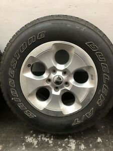 Jeep Wrangler Oem 18 Factory Wheels And Tires Set Of 5