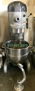 Hobart H 600 t 60 Qt Mixer New Timer S s Bowl and One Att 208v 3ph 1 Hp1