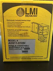 Brand New In Sealed Box Lmi Milton Roy Dosing Pump Model Ad911 910si