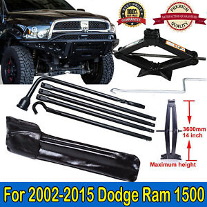 Tool Kit For Dodge Ram 1500 2002 15 Spare Tyre Wheel Wrench 2 Ton Scissor Jack