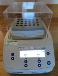 Excellent Eppendorf Thermomixer F1 5 For 1 5 Ml Tubes Tested And It Works