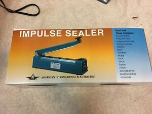 American International Electric 12 Impulse Bag Sealer 600w Type Aie 305