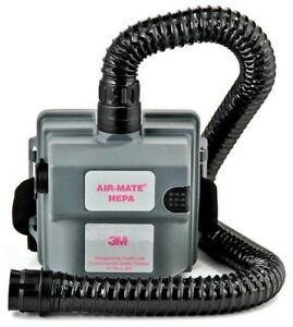 3m Hepa Air Mate Powered Air Respirator System W Battery Belt Filter
