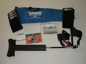 Sager Minto Bilateral Emergency Traction Splint Ref S304 ems trauma
