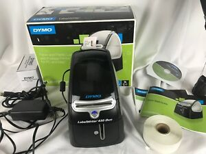 Dymo Labelwriter 450 Duo Label Thermal Printer Tested Working Extra Labels