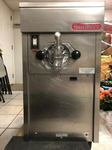 Saniserv Soft Serve Ice Cream Machine