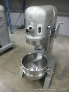 Hobart H 600 Pizza Donut Pizza Dough Mixer 60 Qt W Bowl Hook