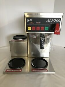Wilbur Curtis 3 Station Alpha Coffee Maker