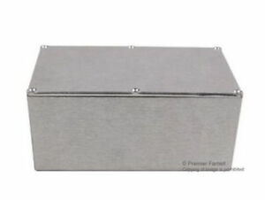 Brand New No 91f1606 Bud Industries Cu 347 Enclosure Box Aluminium