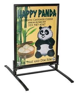 Displays2go Sidewalk Sign Business And Store Sign ows3040b