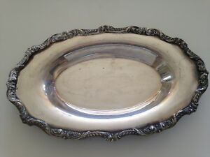 Poole 5006 Silver Plated Small Tray