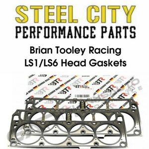 Pair Brian Tooley Racing Gm Ls1 Ls6 Head Gaskets Ls Lq 4 8 5 3 5 7