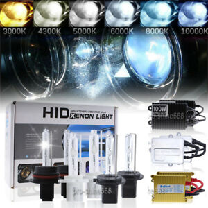 55w 75w 100w Hid Xenon Headlight Conversion Kit Gold Ballast H4 H11 9005 9006 H7