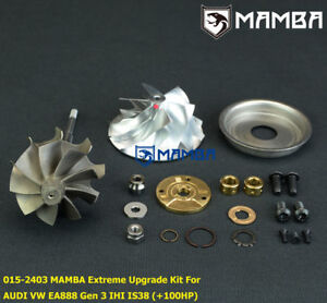 Mamba Audi Vw Golf R 7 S3 Is38 Extreme Upgrade Turbo Kit 100p cw Tw Seal