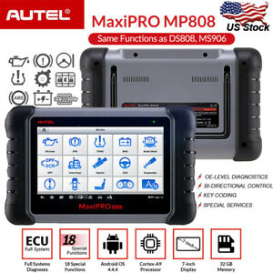 Autel Maxipro Mp808 Obd2 Diagnostic Scan Tool All System Bi directional Scanner