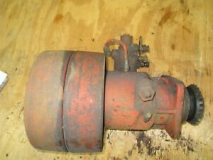 Case Vac Tractor Belt Pulley Hydraulic Pump Assembly