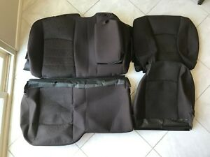 2013 2014 2015 2016 2017 Dodge Ram Crew Cab 1500 2500 3500 Rear Seat Covers