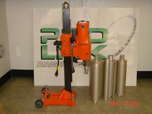 10 New Two Speed Core Drill Machine With Bits