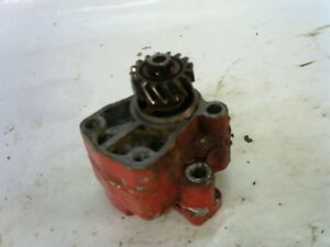 Farmall Super A Hydraulic Pump