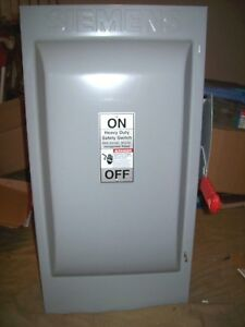 Siemens Safety Switch New hnf364 Non fused 200 Amp 600 Vac 150 Hp 3 Phase