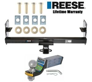 Reese Trailer Tow Hitch For 05 15 Toyota Tacoma Class 3 W Ball Mount