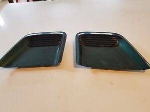 1993 1997 Firebird Trans Am Hood Louvers Vents Grille Scoop Pair 2