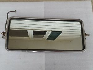 Vintage Chrome Truck Camper Side Mirror Used