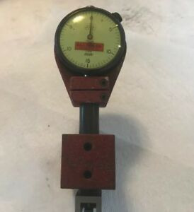 Federal Dial Indicator C5m 0005 Grad Miracle Movement With Stand Indicator