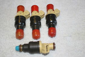 Fuel Injectors Fj187 Saab 900 And Saab 9000 Turbocharged 4 New