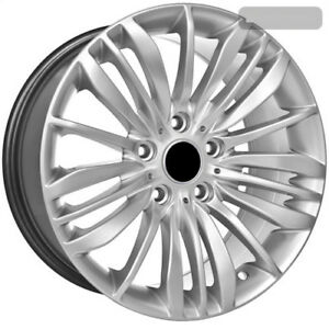 17 Inch Silver Bmw Replica Rims Fits 5 6 7 Series
