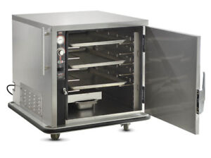 Fwe Undercounter Insulated Mobile Heated Cabinet W 4 Pan Capacity Model Uhs 4