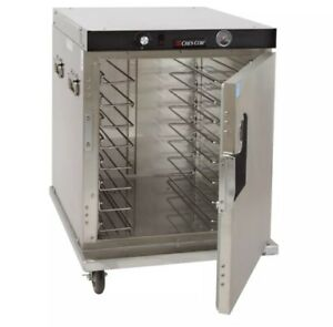 Cres Cor Half size Insulated Mobile Heated Cabinet W 8 Pan Capacity Model H 339