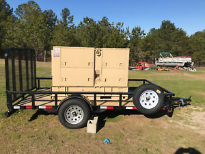Mep 005a Military Generator 30 Kw Diesel With New Trailer look