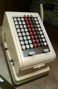 Paymaster Series 7000 Check Writer Vintage With Key Used