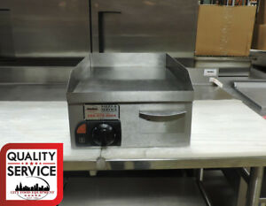 Anvil Axis Fta0400 Commercial Flat Griddle Top 120 V