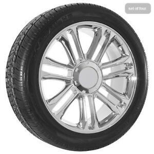 22 Inch Chrome Chevy Truck Silverado Tahoe Wheels Rims And Tires 055