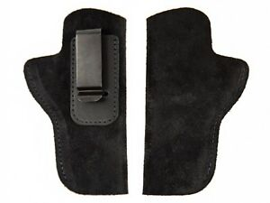 1911_STI Ranger II 45_FHL_Leather Suede Holster_IWB_Conceal Carry_USA_Universal_