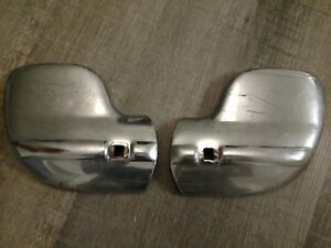 1940 1941 Ford Truck Bumper Wing Tips Ends