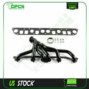 Manifold Header exhaust For Jeep Wrangler Cherokee 2000 4 0l Tj Yj Xj Stainless