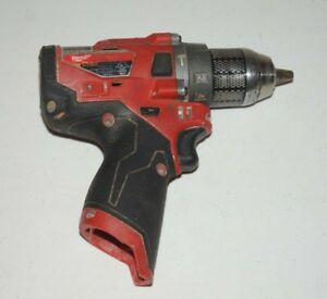 Milwaukee 2504 20 M12 12v Fuel Brushless 1 2 In Hammer Drill Used U42