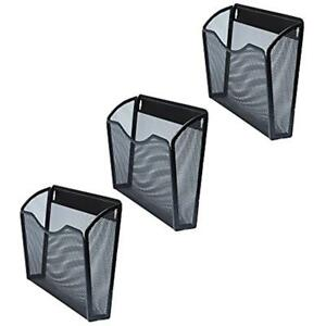 Wall File Folder Set Of 3 Mounted Hanging Folders Perfect Organizer For Home