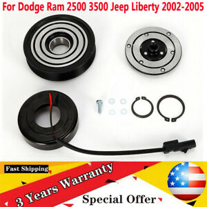 A C Ac Compressor Clutch Kit Pulley Bearing Fit For Jeep Liberty 2002 05 Usa