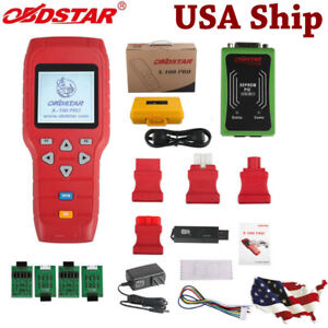 Usa Ship X 100 Pro Auto Programmer c d Type Obdstar Pic Eeprom 2 in 1 Adapter