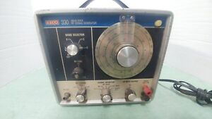 Vintage Eico 330 Solid State Rf Signal Generator