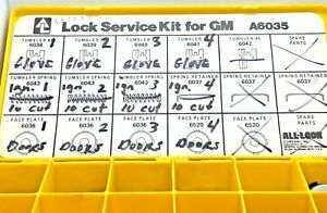General Motors 10 cut Double Sided Lock Pinning Kit Locksmith Auto Servicing