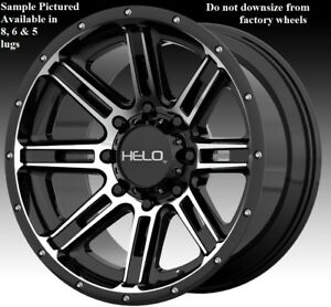 4 New 20 Wheels Rims For Ford 1999 2019 F 250 F 350 Super Duty 2wd 4wd A3297