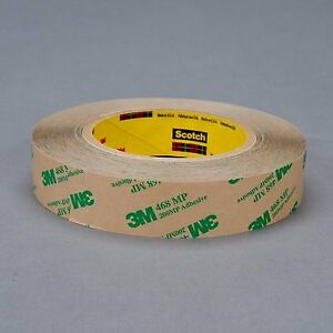 468mp Adhesive Transfer Tape 3 In X 60 Yd Clear pack Of 12