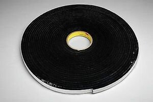 3m 4504 Vinyl Foam Tape 4504 Black 2 In X 18 Yd